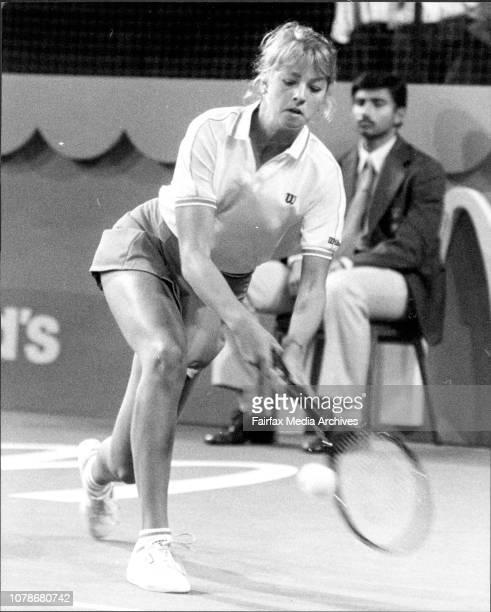 Women's tennis McDonald's Championship at Hordern PavilionWendy Rurnbull V Sylvia HanikaShris Lloyd V Lisa Bonder July 28 1983