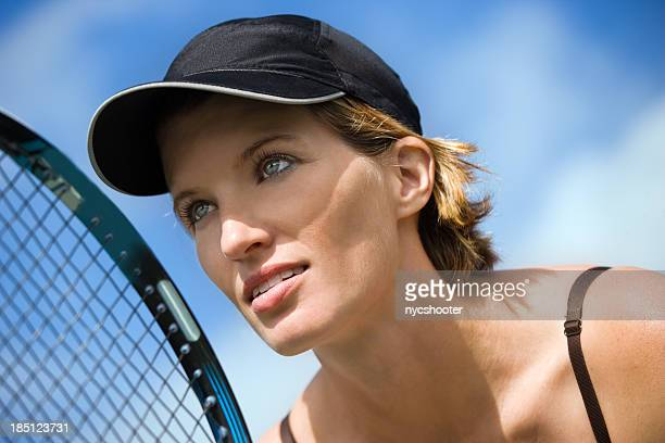 women's tennis service return - tennis player stock pictures, royalty-free photos & images