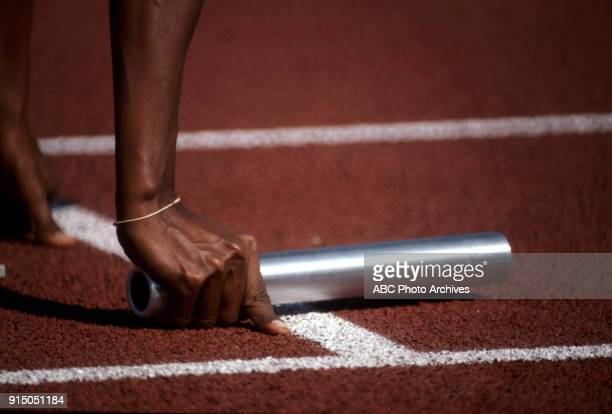 Women's Track 4 x 100 metres competition Memorial Coliseum at the 1984 Summer Olympics August 11 1984