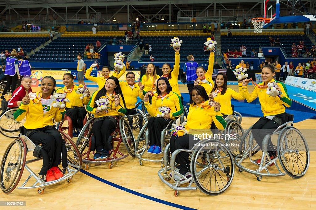 women s wheelchair basketball team of brazil celebrating pictures