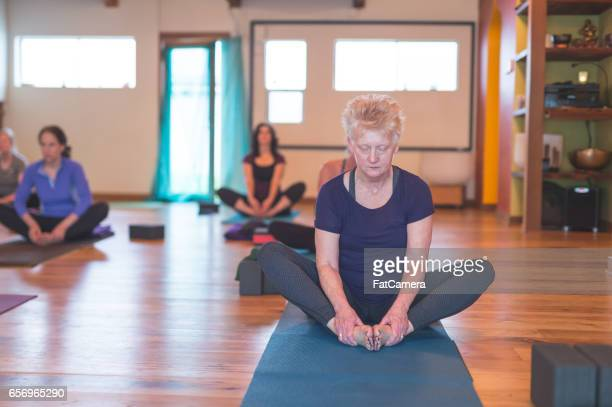 Studio de Yoga de la femme