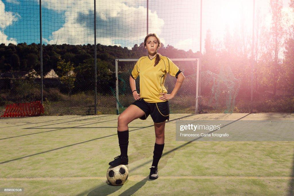 Women'soccer : Stock Photo
