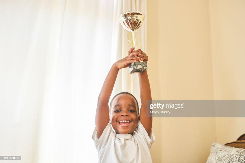 I won an award! : Stock Photo