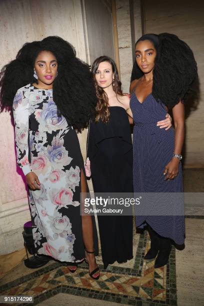 Wonder Antoniette Costa and Cipriana Quann attend Humans of Fashion Foundation joins the conversation to end sexual harassment and assault in the...
