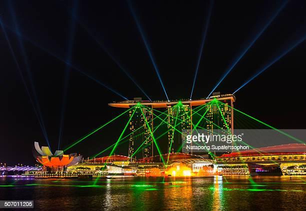 Wonder Full is a nighttime multimedia spectacular located at Marina Bay Sands, Marina Bay, Singapore.