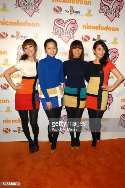 Wonder Girls attends School Gyrls World Premiere Screening at Six Flags Magic Mountain on February 15 2010 in Valencia California