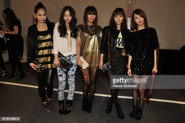 Wonder Girls attends TORY BURCH Fall 2010 Collection at Salon on February 17 2010 in New York City