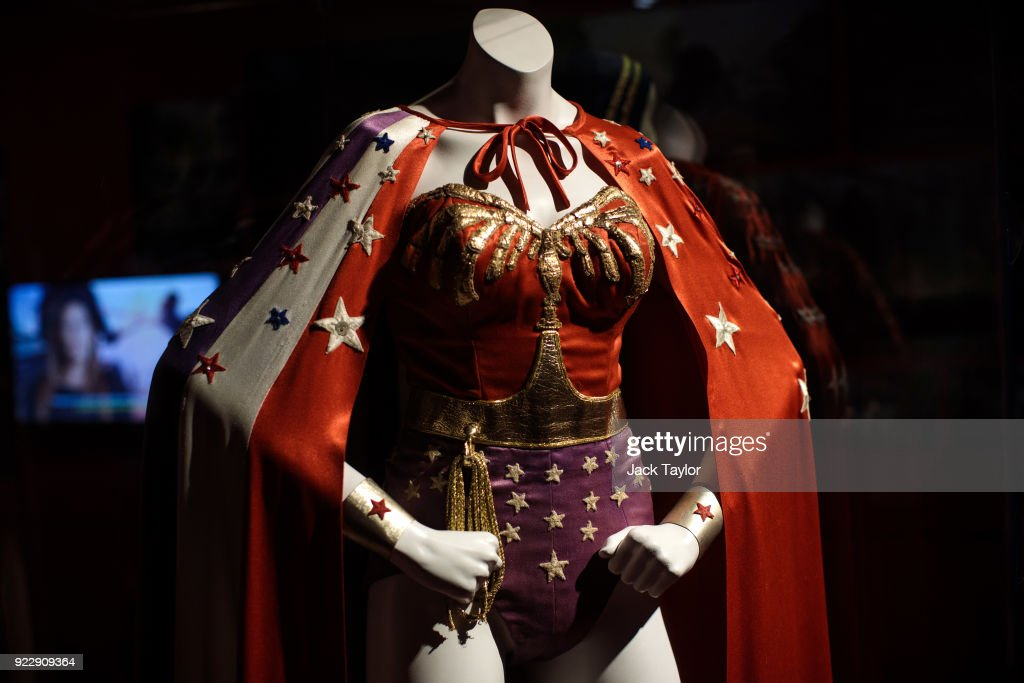 DC Comics Exhibition: Dawn Of Super Heroes Launches At The o2 : News Photo