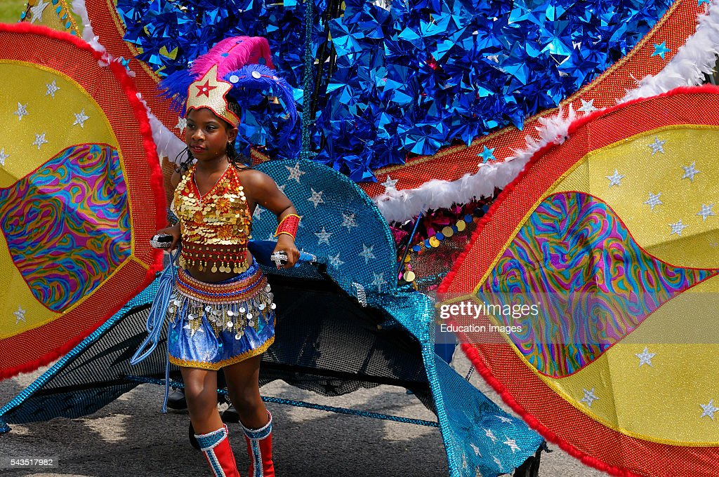 Wonder Woman Queen of the Band at the Junior Caribana Parade in