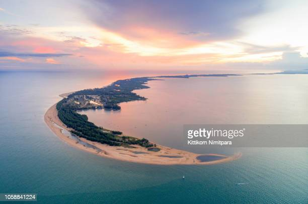 wonderful background.aerial view from andaman beach. - indian ocean stock pictures, royalty-free photos & images