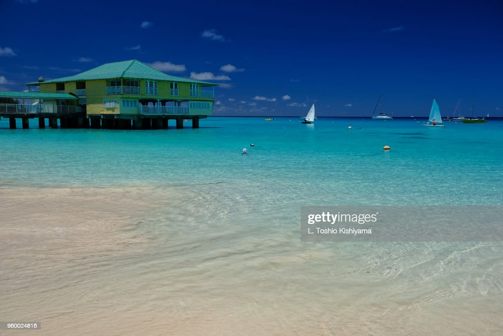 Wonderful beaches in Barbados : Stock-Foto