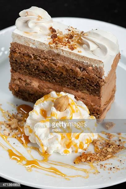 Splendida torta in huzelnut