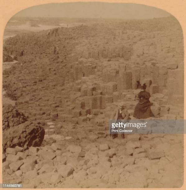 Wonderful Giant's Causeway County Antrim Ireland' 1899 The unusual structure was formed by a volcanic eruption 60 million years ago with the mainly...