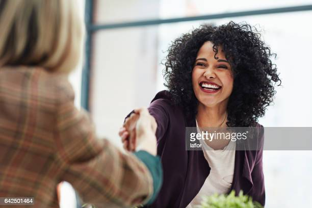 wonderful, i'll see you first thing on monday - black women stock photos and pictures