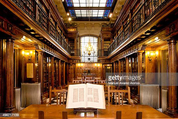 CONTENT] A wonderful library of old books Menendez Pelayo in Santander Spain