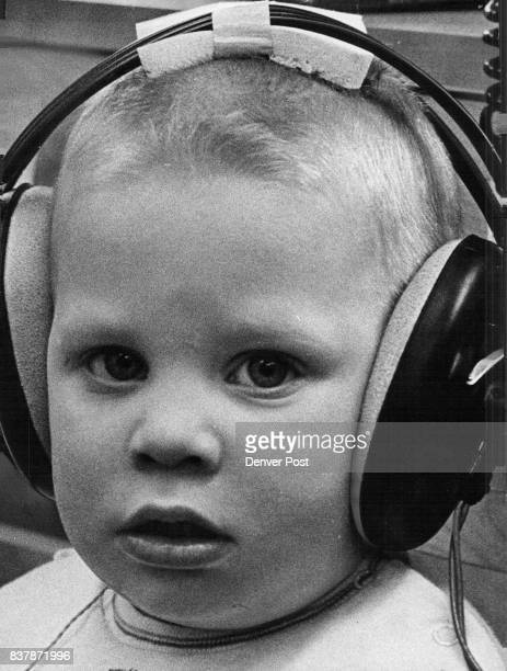Wonderful SoundHis Teacher's Voice Kevin Carscallan listens hard to the sounds made by his teacher at the Nursery Program for the Hearing Handicap a...
