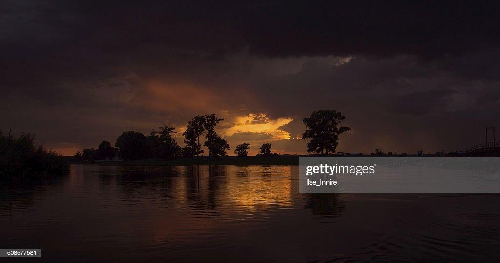 Wonderful sunset : Stock Photo