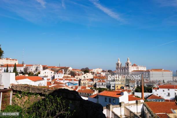 Wonderful View of the city Lisbon