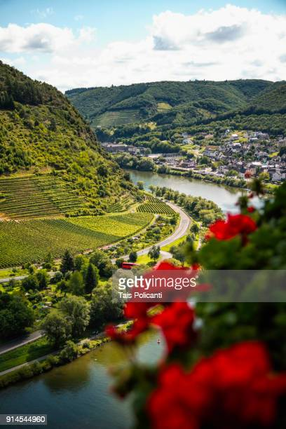 Wonderful view of the Mosel river in Cochem, Germany, Europe