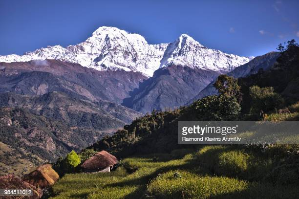 Wonderful views of Holy Annapurna South (7237m)