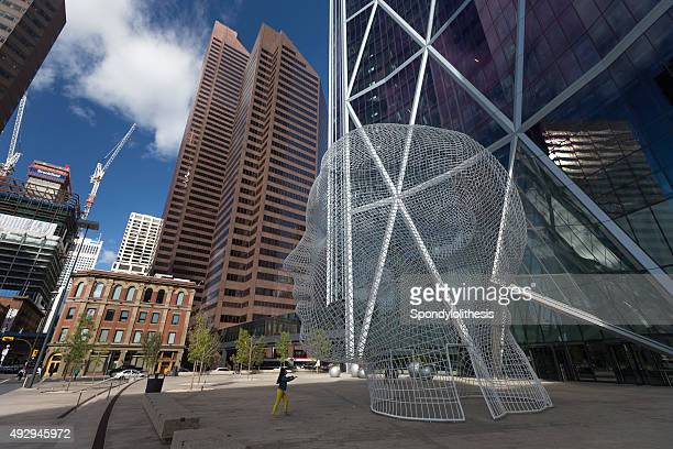 Wonderland Sculpture in Downtown of Calgary, Canada