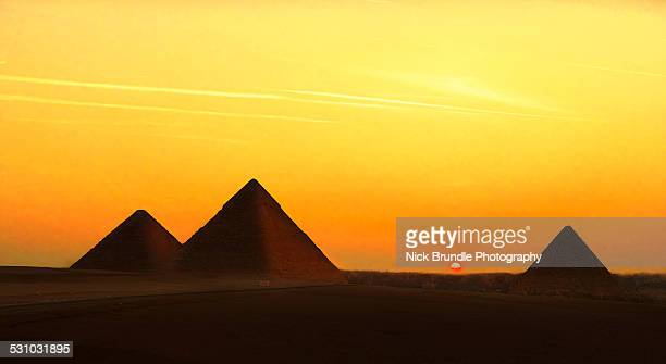 Wonders Of The Ancient World, Giza, Egypt.