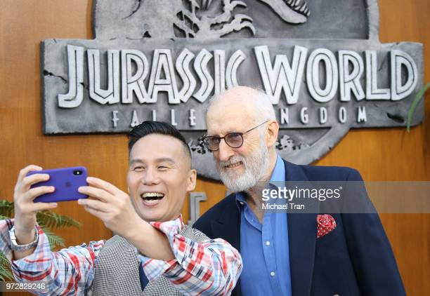 Wong and James Cromwell arrive to the Los Angeles premiere of Universal Pictures and Amblin Entertainment's Jurassic World Fallen Kingdom held at...