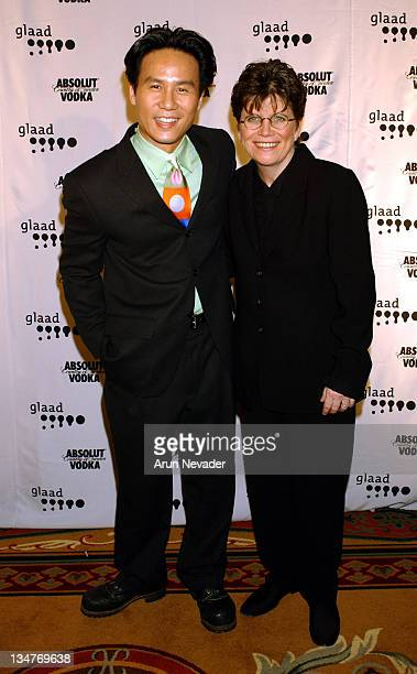 Wong and Joan M. Garry, Executive Director of GLAAD