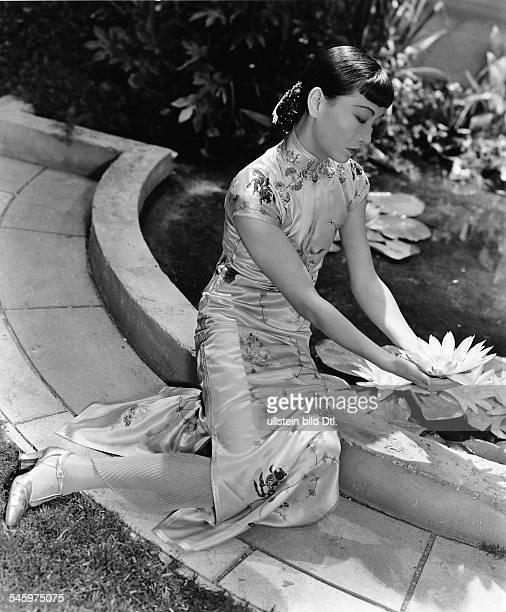 Wong Anna May *eigentl Wong Liu TsongSchauspielerin Filmschauspielerin USAPorträt aus dem Film 'Tochter von Shanghai Shanghai's Tochter / Daughter of...