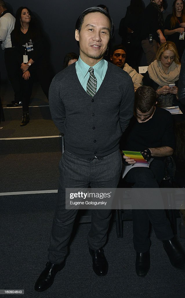 B.D. Wong attends Sergio Davila during Fall 2013 Mercedes-Benz Fashion Week at The Studio at Lincoln Center on February 7, 2013 in New York City.
