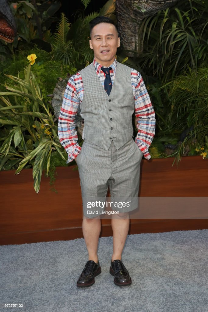 BD Wong attends the premiere of Universal Pictures and Amblin Entertainment's 'Jurassic World: Fallen Kingdom' at Walt Disney Concert Hall on June 12, 2018 in Los Angeles, California.