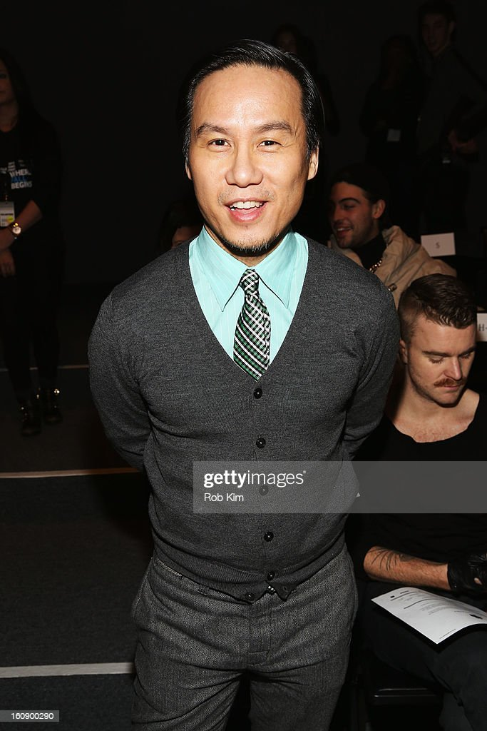 B.D. Wong attends the Sergio Davila Fall 2013 fashion show during Mercedes-Benz Fashion Week at The Studio at Lincoln Center on February 7, 2013 in New York City.