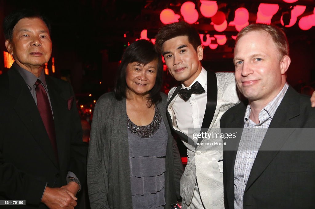 Wong Jack Man, Phillip Ng nd guests attend the special screening WWE Studios' 'Birth Of The Dragon' After Party on August 17, 2017 in Hollywood, California.