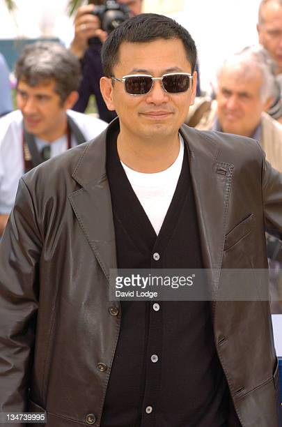 Wong Kar Wai during 2006 Cannes Film Festival Jury Photo Call at Palais du Festival in Cannes France