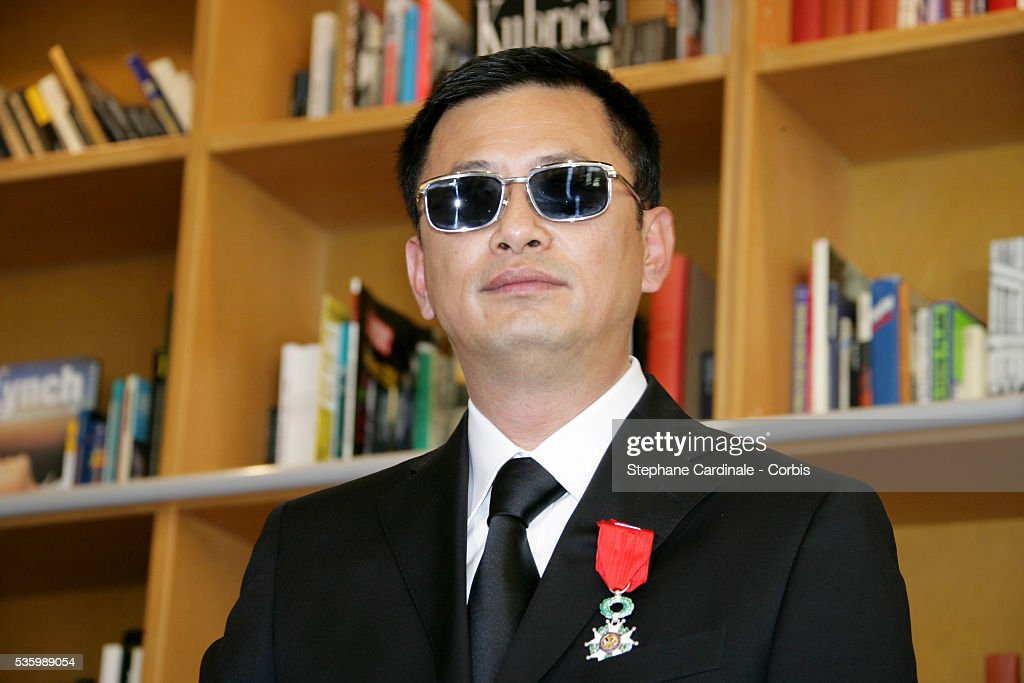 Wong Kar Wai receives the medal of the Legion of Honour during the 59th Cannes Film Festival.