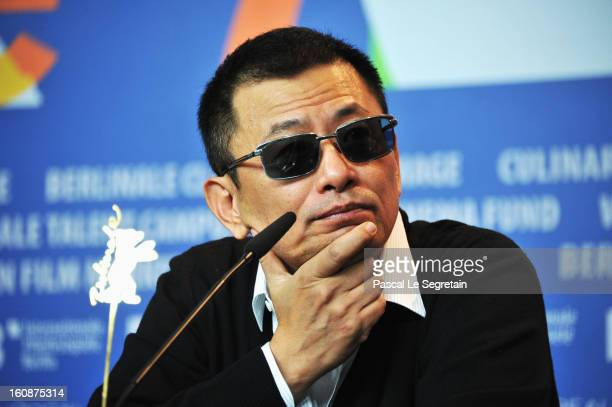 Wong KarWai attends 'The Grandmaster' Press Conference during the 63rd Berlinale International Film Festival at the Grand Hyatt on February 7 2013 in...