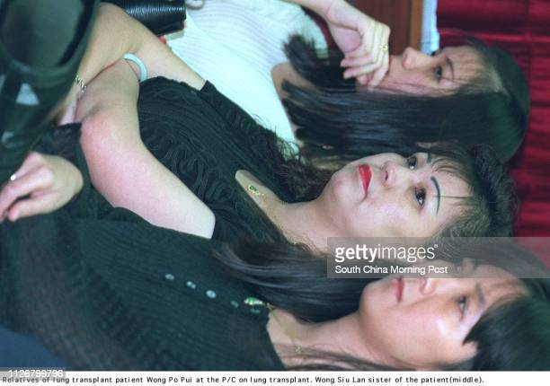 Wong Popui became the recipient of the first lung transplant when she received a leftside lung from a 16yearold traffic accident victim at the...