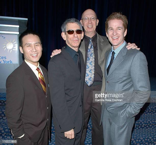 BD Wong Richard Belzer Dann Florek and Matthew Modine