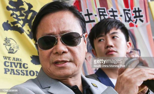 Wong Yukman with Chairman of Civic Passion Cheng Chungtai appear at Eastern Court in Sai Wan Ho The former lawmaker vowed to appeal aganist his...