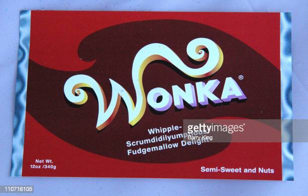 Wonka Bar during Los Angeles Film Festival Family Day Warner Bros' 'Charlie and the Chocolate Factory' Booth at Santa Monica Pier in Santa Monica...