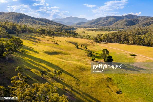 wonnongatta, victorian high country - valley stock pictures, royalty-free photos & images