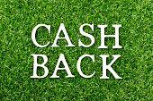 wood alphabet letter word cash back