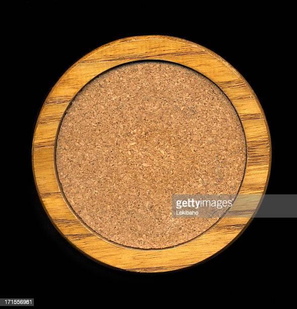 Wood and Cork Coaster