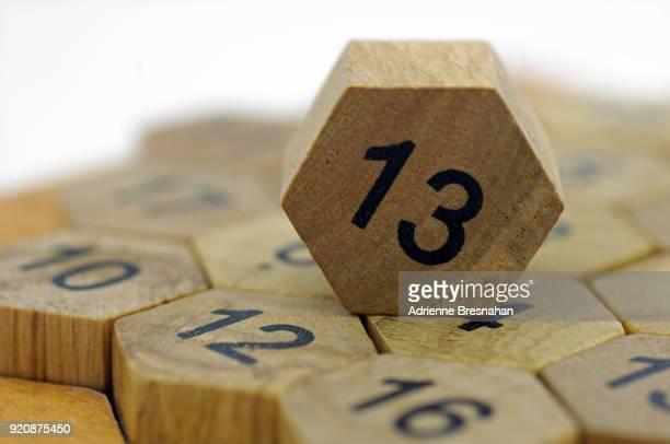 Wood Block Number 13