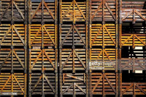 wood boxes - storage compartment stock pictures, royalty-free photos & images