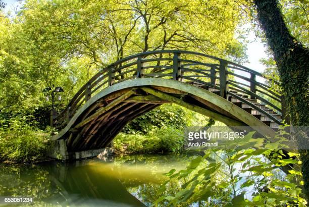 Wood Bridge at Maojiabu