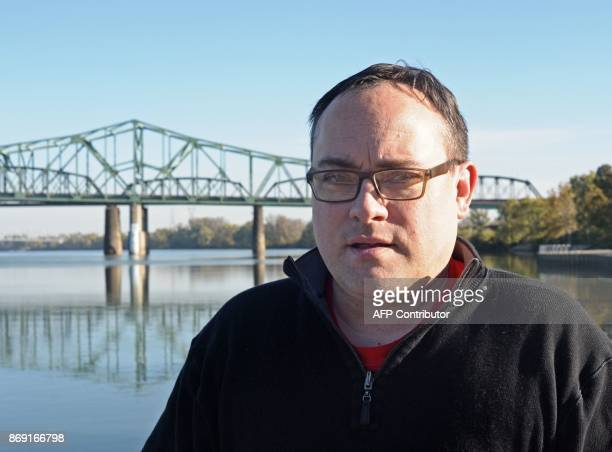 Wood County Republican party chairman Rob Cornelius speaks to AFP October 27 2017 in Parkersburg WV US President Donald Trump may not be short of...