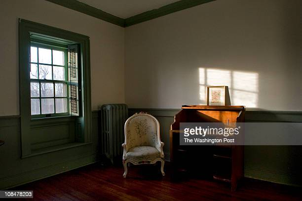 Wood floors wainscoting built in windows and crown molding are features in most rooms of the circa 1768 Fairfield home a house built by Warren...