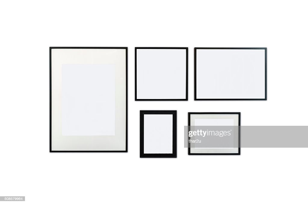 Wood frame : Stock Photo