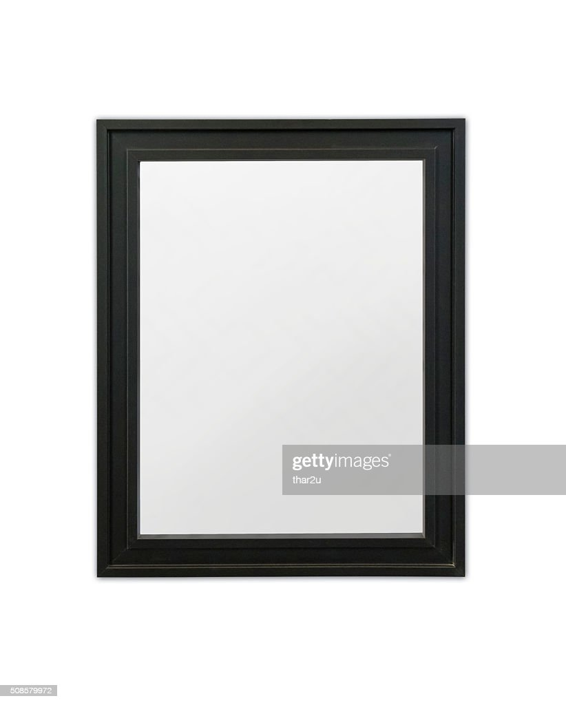 Wood frame : Stock Photo